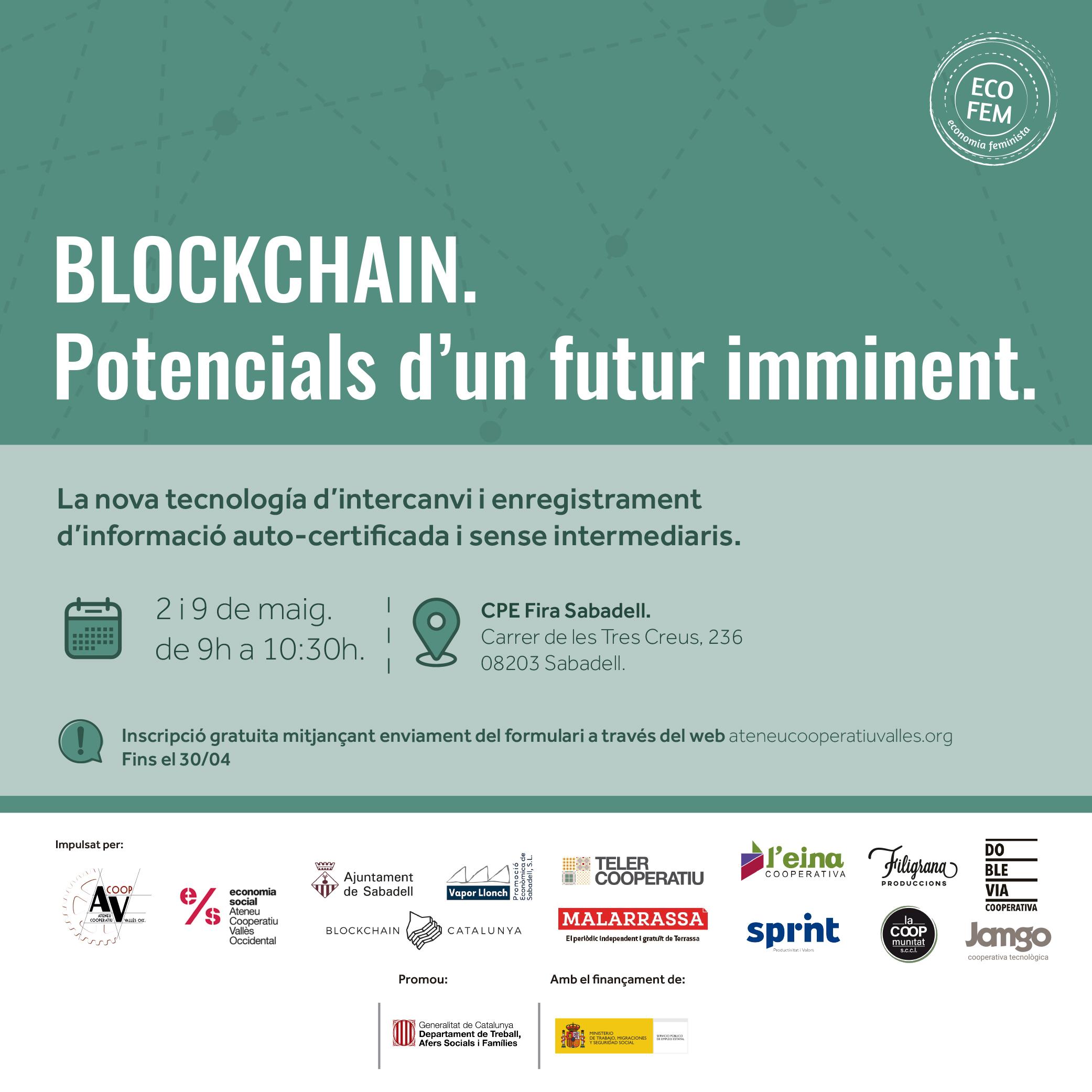 Curs de Blockchain de La Coopmunitat. Una base de dades distribuida id escentralitzada