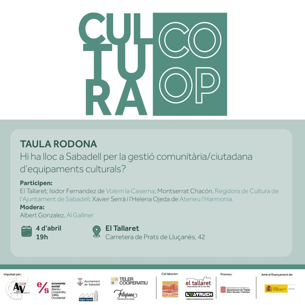 Taula Rodona Cultura Coop