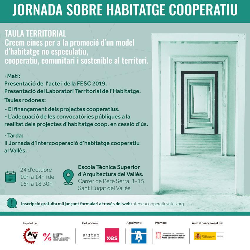 Jornada Habitatge Cooperatiu